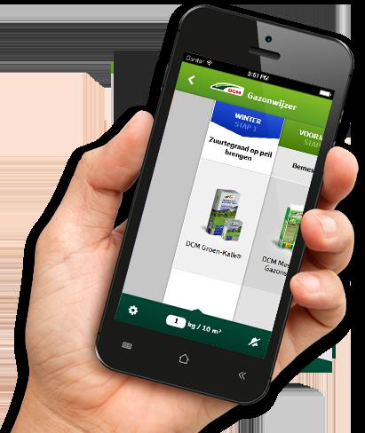 gazonwijzer smartphone